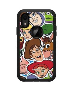Toy Story Outline Otterbox Defender iPhone Skin
