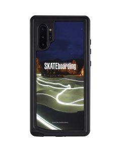 TransWorld Luminescent Skate Park Lights Galaxy Note 10 Plus Waterproof Case
