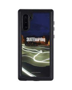 TransWorld Luminescent Skate Park Lights Galaxy Note 10 Waterproof Case