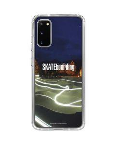 TransWorld Luminescent Skate Park Lights Galaxy S20 Clear Case