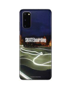 TransWorld Luminescent Skate Park Lights Galaxy S20 Skin