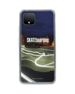 TransWorld Luminescent Skate Park Lights Google Pixel 4 Clear Case