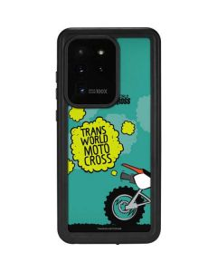 TransWorld Motocross Animated Galaxy S20 Ultra 5G Waterproof Case