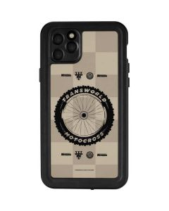 TransWorld Motocross Checkered Pattern iPhone 11 Pro Max Waterproof Case