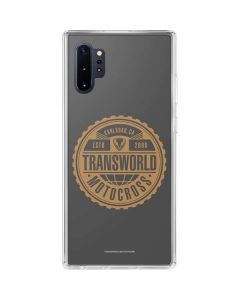 TransWorld Motocross Established 2000 Galaxy Note 10 Plus Clear Case