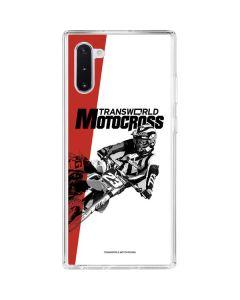 TransWorld Motocross Galaxy Note 10 Clear Case