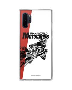 TransWorld Motocross Galaxy Note 10 Plus Clear Case