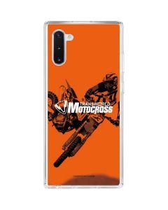 TransWorld Motocross Magazine Galaxy Note 10 Clear Case