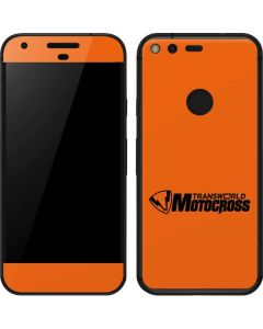TransWorld Motocross Orange Logo Google Pixel Skin