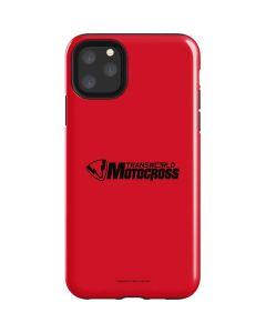 TransWorld Motocross Red Logo iPhone 11 Pro Max Impact Case