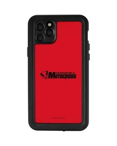TransWorld Motocross Red Logo iPhone 11 Pro Max Waterproof Case