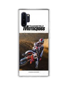 TransWorld Motocross Rider Galaxy Note 10 Plus Clear Case