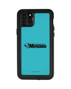 TransWorld Motocross Teal Logo iPhone 11 Pro Max Waterproof Case