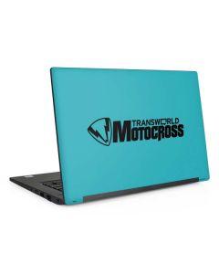 TransWorld Motocross Teal Logo Dell Latitude Skin