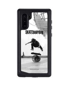 TransWorld SKATEboarding Black and White Galaxy Note 10 Waterproof Case