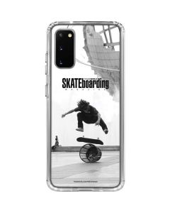 TransWorld SKATEboarding Black and White Galaxy S20 Clear Case