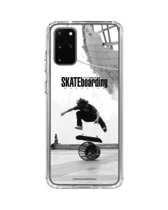 TransWorld SKATEboarding Black and White Galaxy S20 Plus Clear Case