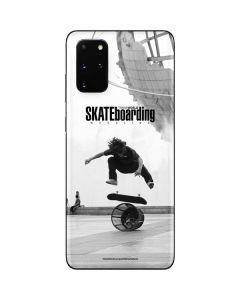 TransWorld SKATEboarding Black and White Galaxy S20 Plus Skin