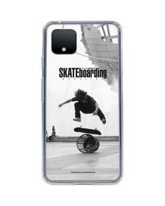 TransWorld SKATEboarding Black and White Google Pixel 4 XL Clear Case