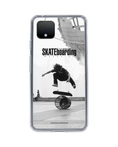TransWorld SKATEboarding Black and White Google Pixel 4 XL Clear Case