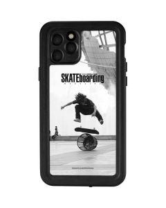 TransWorld SKATEboarding Black and White iPhone 11 Pro Waterproof Case