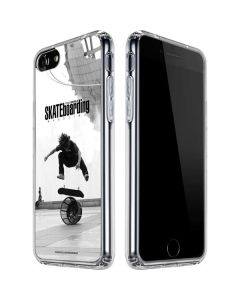 TransWorld SKATEboarding Black and White iPhone SE Clear Case