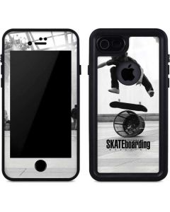 TransWorld SKATEboarding Black and White iPhone SE Waterproof Case