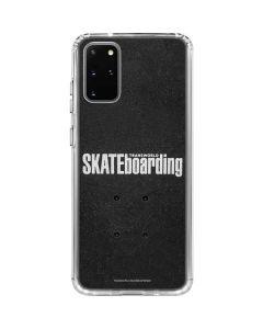 TransWorld SKATEboarding Galaxy S20 Plus Clear Case