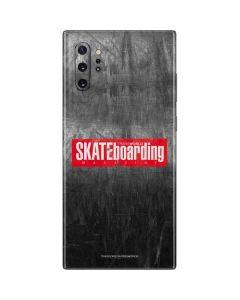 TransWorld SKATEboarding Magazine Chalkboard Galaxy Note 10 Plus Skin