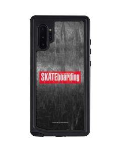 TransWorld SKATEboarding Magazine Chalkboard Galaxy Note 10 Plus Waterproof Case