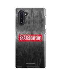 TransWorld SKATEboarding Magazine Chalkboard Galaxy Note 10 Pro Case