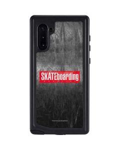 TransWorld SKATEboarding Magazine Chalkboard Galaxy Note 10 Waterproof Case