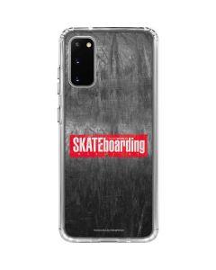 TransWorld SKATEboarding Magazine Chalkboard Galaxy S20 Clear Case