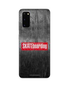 TransWorld SKATEboarding Magazine Chalkboard Galaxy S20 Skin