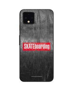 TransWorld SKATEboarding Magazine Chalkboard Google Pixel 4 Skin