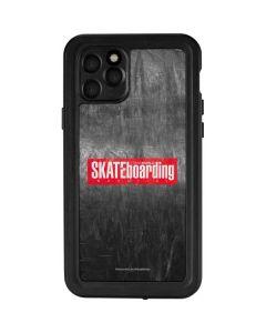 TransWorld SKATEboarding Magazine Chalkboard iPhone 11 Pro Waterproof Case