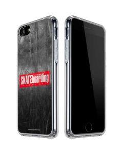 TransWorld SKATEboarding Magazine Chalkboard iPhone SE Clear Case