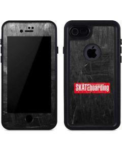 TransWorld SKATEboarding Magazine Chalkboard iPhone SE Waterproof Case