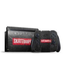 TransWorld SKATEboarding Magazine Chalkboard Nintendo Switch Bundle Skin