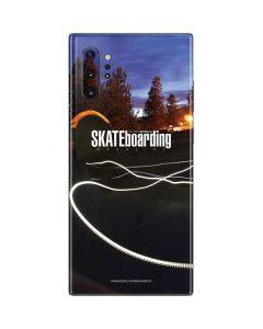 TransWorld SKATEboarding Skate Park Lights Galaxy Note 10 Plus Skin