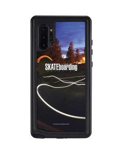 TransWorld SKATEboarding Skate Park Lights Galaxy Note 10 Plus Waterproof Case