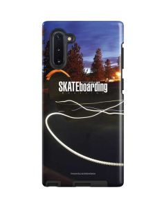 TransWorld SKATEboarding Skate Park Lights Galaxy Note 10 Pro Case
