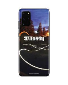 TransWorld SKATEboarding Skate Park Lights Galaxy S20 Plus Skin
