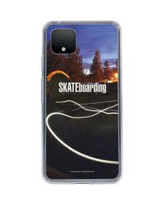 TransWorld SKATEboarding Skate Park Lights Google Pixel 4 Clear Case