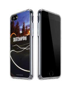TransWorld SKATEboarding Skate Park Lights iPhone SE Clear Case