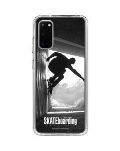 TransWorld SKATEboarding Wall Ride Galaxy S20 Clear Case
