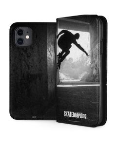 TransWorld SKATEboarding Wall Ride iPhone 11 Folio Case