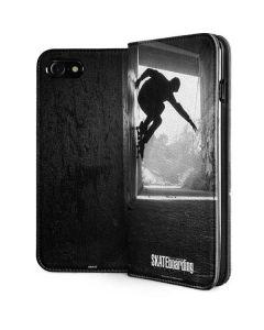 TransWorld SKATEboarding Wall Ride iPhone SE Folio Case