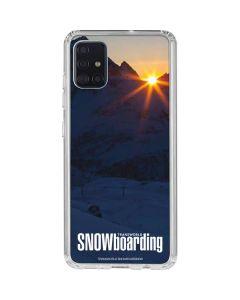 TransWorld SNOWboarding Dark Galaxy A51 Clear Case