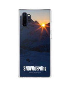 TransWorld SNOWboarding Dark Galaxy Note 10 Plus Clear Case